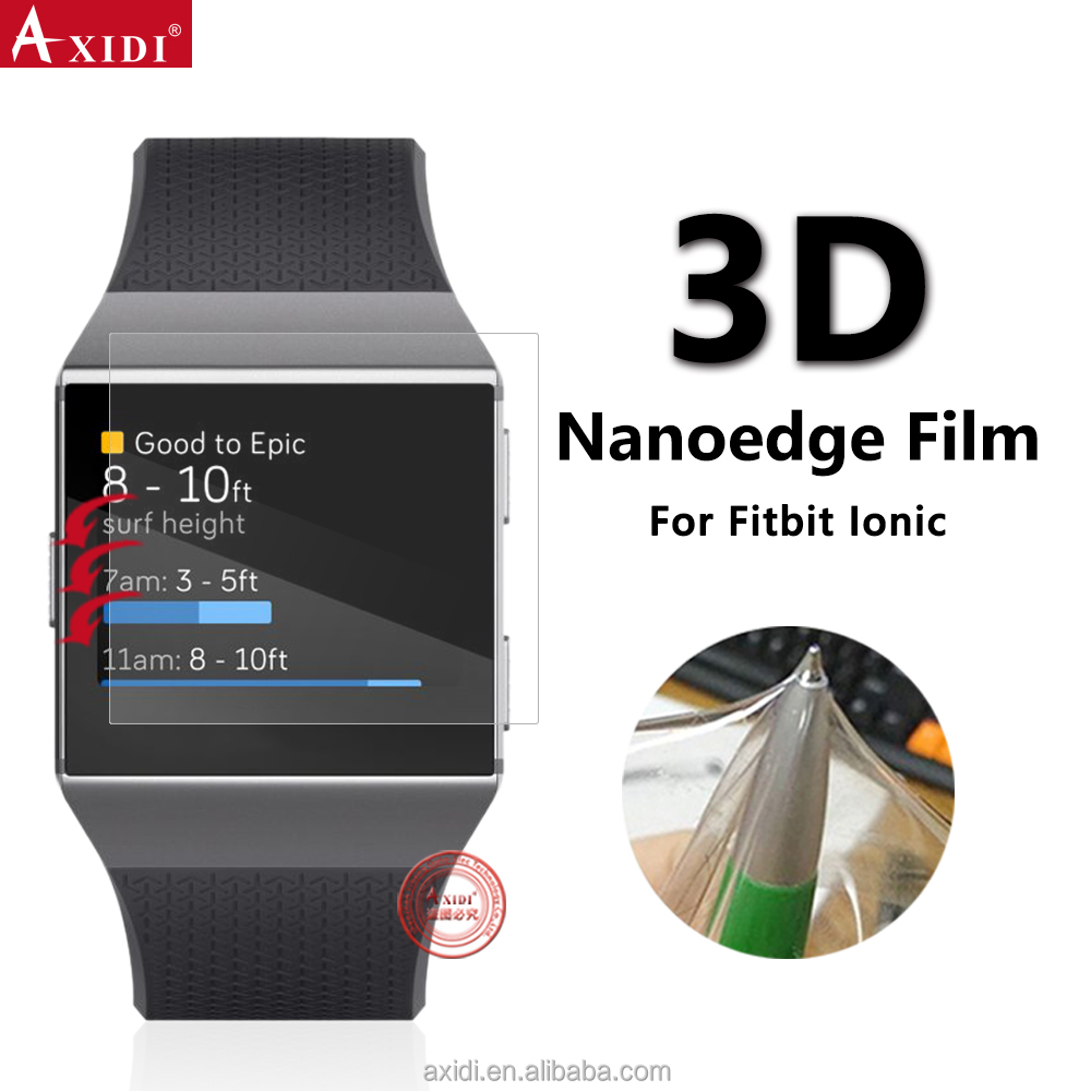 Smart Watch Screen Film Soft TPU Protector For Fitbit Ionic Shock Proof Protector HD Screen Film