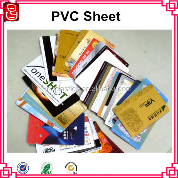 Different Types Full Color Printing Plastic PVC Card