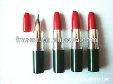 Fashion Lady Plastic Ball Pens ,Red Lipstick Pens