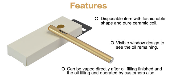 Original Evaporator 510 cbd Oil Ceramic Atomizer MV5 disposable vape pen