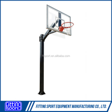 New Design Steel Inground Powered Coated Basketball Hoops/stands