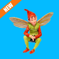 Resin Miniature Fairy Garden Elf Fairy Figure for Sale