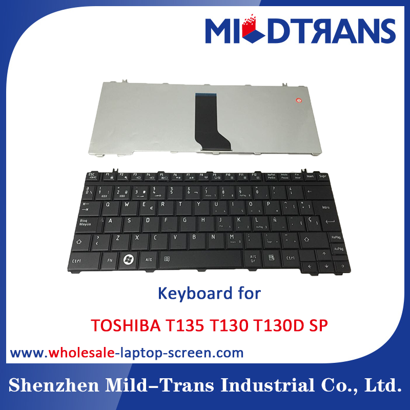 Notebook Internal Keyboard for Toshiba T135 T130 T130D SP language layout