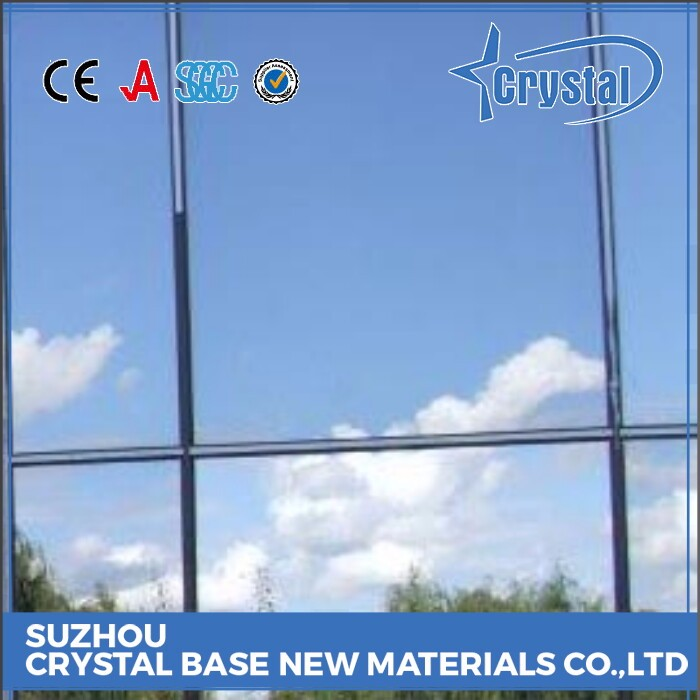 Tested Large Manufacturer Balcony Glass Curtain Window