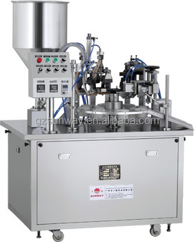Half Automatic Cream Tube Filling and Sealing Machine
