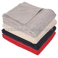 Hot Sell Promotional Polar Fleece Blankets with LOGO printing