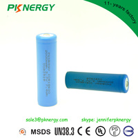 Rechargeable lithium ion 14650 18650p lithium battery 3.7v 1000mah 2000mah li-ion battery with KC certificate