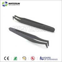 Cleanroom conductive economic plastic mini tweezers