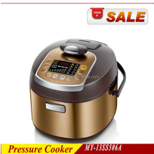 Wholesale Brush Body LED Digital New Style Pressure Cooker 5L