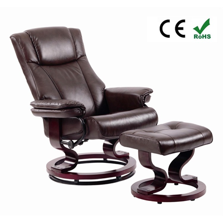 Recliner Vibration Massage Sofa / Electric Office Massage Chair Portable