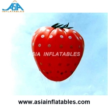 2017 Hot sale inflatable strawberry fruits inflatable vegetables for advertising