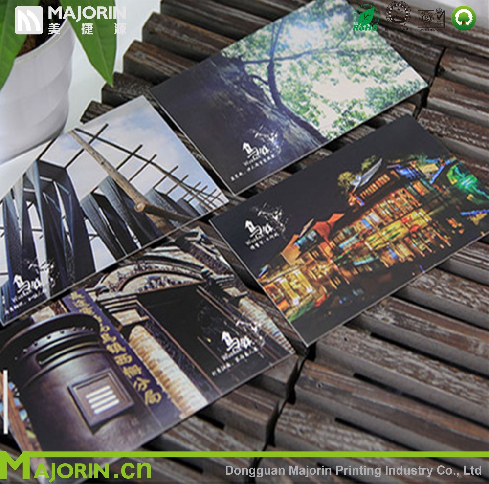 Hot selling travel post card printing for present