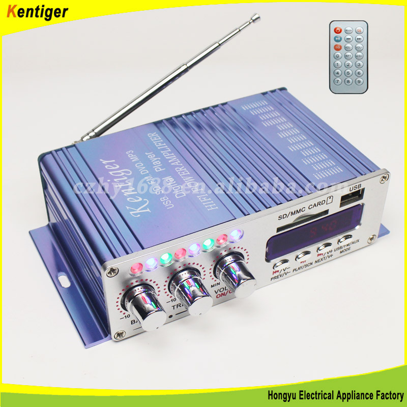 2channel MP3 FM with Digital display amplifier