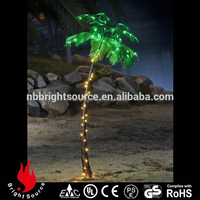 christmas decorations and low price outdoor lighted palm tree