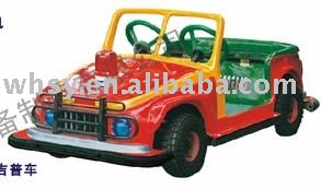 Amusement equipment battery operated toy car