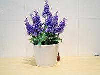 Decorative potted flower - artificial arrangement