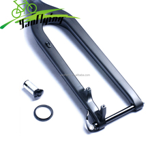 Hot sale 29ER carbon mountain fork,100*15mm thru axle carbon fork for mountain bike,cheap price carbon mtb fork with 15mm axle