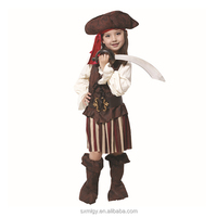 Pirate cosplay costume for girls