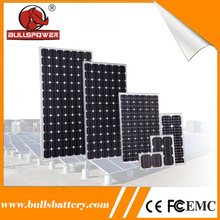 High efficiency 60w monocrystallinen solar cells 6x6 solar panel for sale