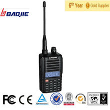 CE&FCC protable ham radio walkie talkie BJ-UV88 with 5 watt high power output radio programming software