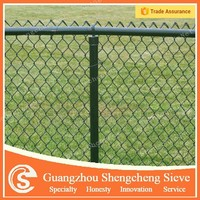 Waterproof temporary construction chain link fence poles