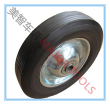 8*1.75 solid rubber barrow wheels and tires