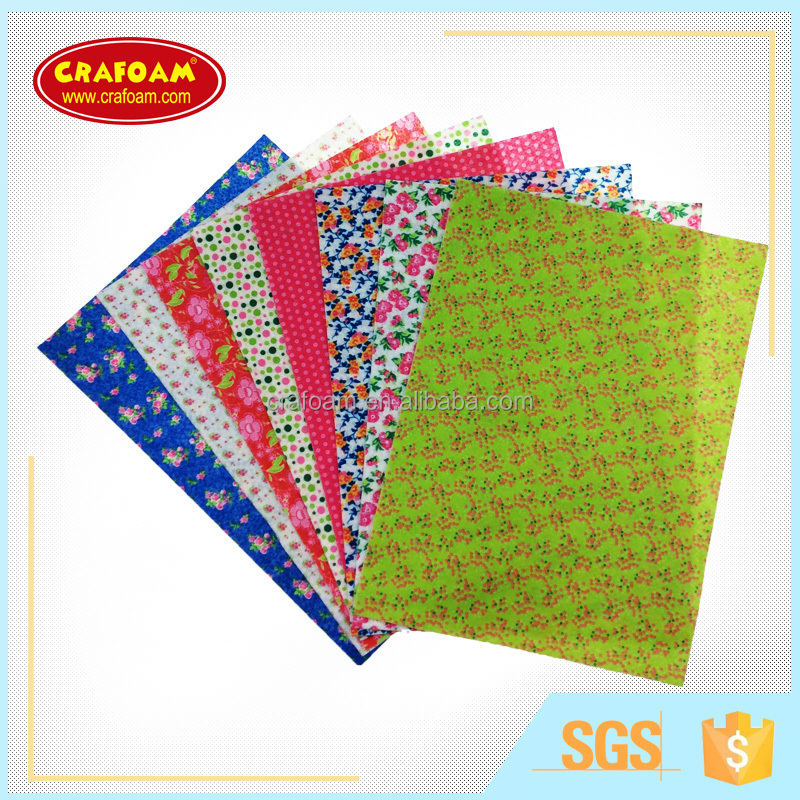 wholesale felt fabric printed craft felt sheets patterned felt for craft