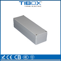 IP66 protection degree waterproof aluminum extrusion enclosure
