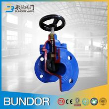Resilient seat bs5163 ductile iron body rubber seal gate valve with indicator