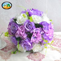 High quality table wedding decorations artificial flowers ball wholesale