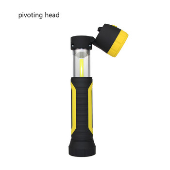 Work LED Light with Rotatable Head and Magnet Work Light with Hook and Magnet