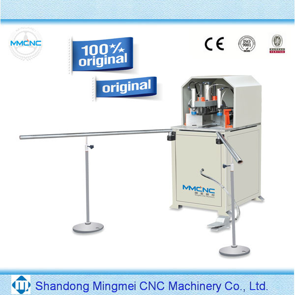 mullion cutting plastic door window pvc corner cleaning machine