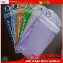 High Standard Alibaba Trade High Standard Alibaba Trade Assurance Custom Small Phone Packing Printed Clear PVC Ziplock Bags