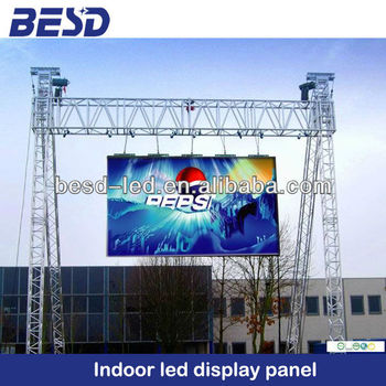 aluminum alloy slim hanging rental led display panel