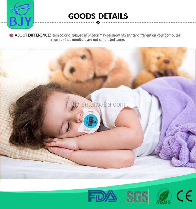 New Products Dummy Pacifier Soft Baby Nipple Thermometer For Health Care
