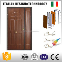 Italian design used metal security doors