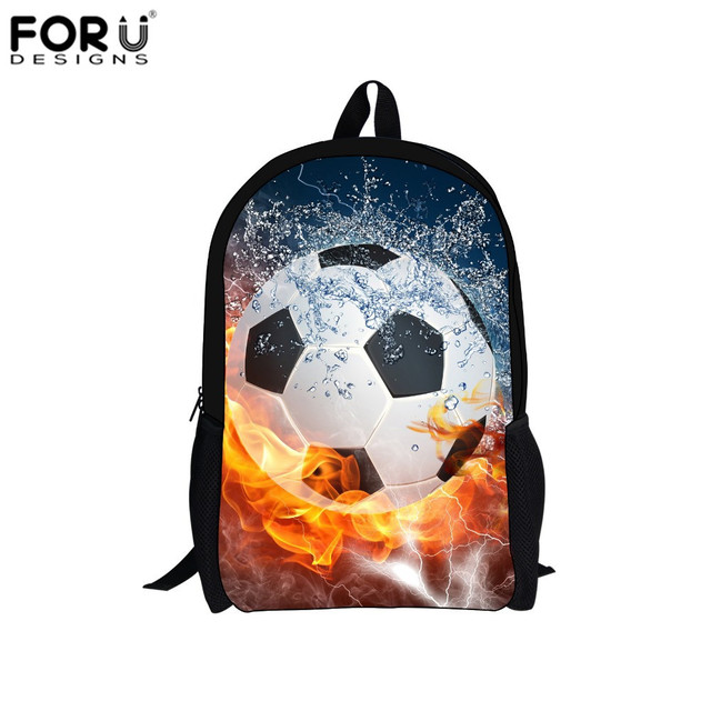 FORUDESIGNS Fashion Backpacks for Boys Kids School Backpack Bags for Youth Rucksack Student Mochila Escolar Menino Rugtas