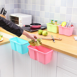 Kitchen Cabinet Doors Trash Can Hanging Plastic Garbage Bin