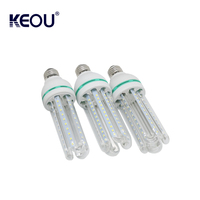 China manufacturer energy saving light bulb e14 4u led lamp with CE certificates