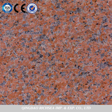 Customer Standard Size Chinese Red Granite With Natural Material