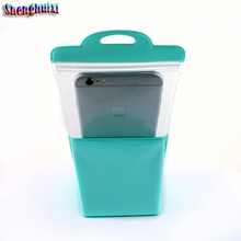 Mobile phone Outdoor back cover waterproof wallets for snorkeling