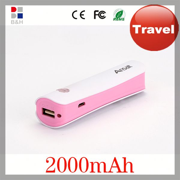 2014 High quality Factory wholesale price Portable For Mobile Phone portable power bank for ipod fcc