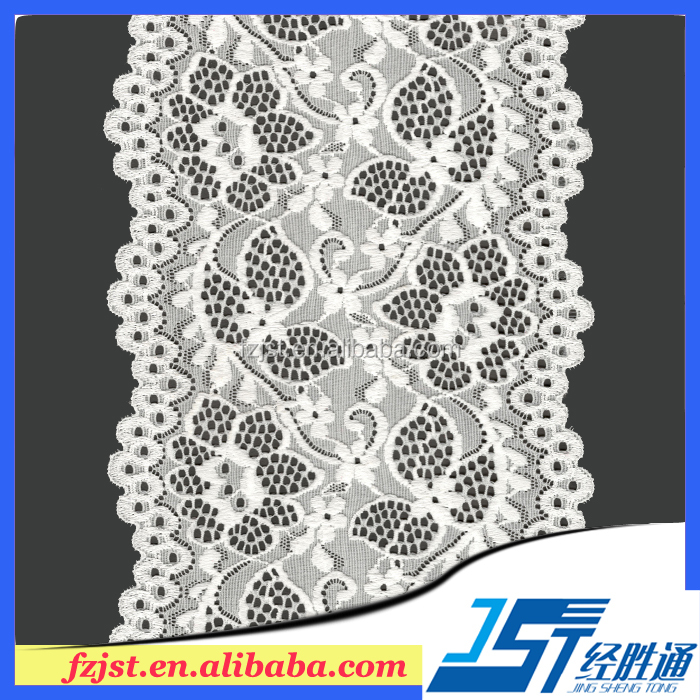 15cm top quality control hot sale stretch lace trim wholesale