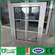 Aluminum casement window with grill design