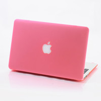 "Matte Hard Case For Macbook Air 13"" 13.3"" inch in 12 colors option"