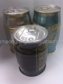 Brand products waterproof welded coffee tinplate can
