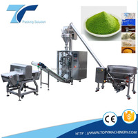 Multi-function automatic vertical form fill seal packing machine, powder bagger