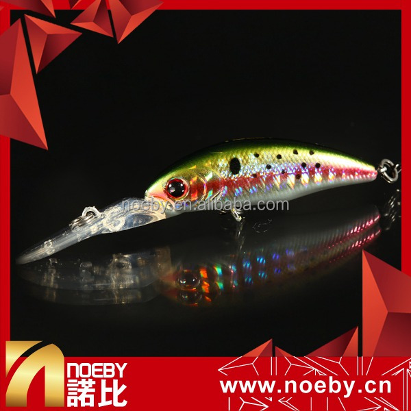 NBL 9055 Long Big Tongue Dive Board Hard Minnow Fishing Bait Lure