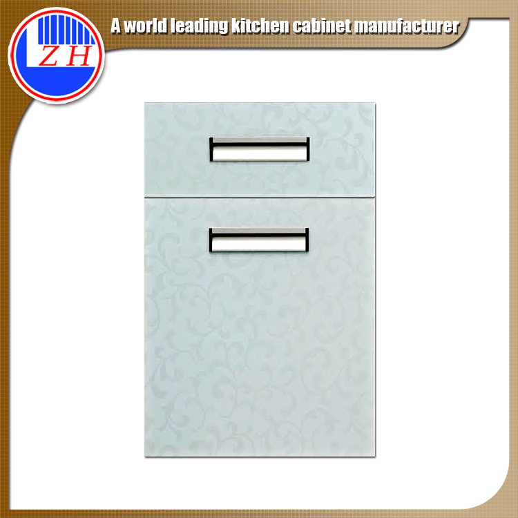 scratch resistant fire proof damp proof PVC UV acrylic kitchen cabinet wooden doors design prices