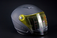 Top quality matte black motorcycle funny helmet for sale